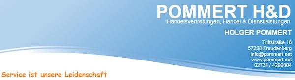 Logo von POMMERT H&D