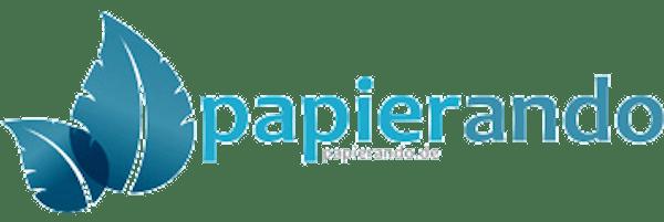 Logo von papierando