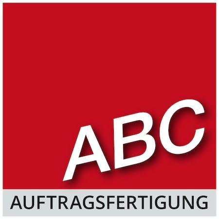Logo von ABC Service & Produktion GmbH - Auftragsfertigung. wirtschaftlich. sozial. kompetent.