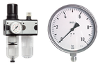 Druckregler-Manometer- Thermometer