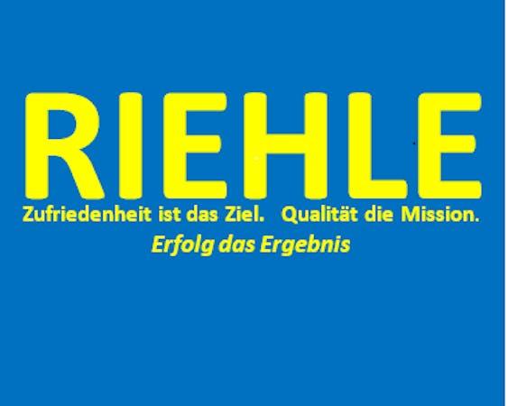 Logo von RIEHLE DIENSTLEISTUNG