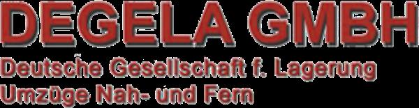 Logo von DEGELA GmbH Deutsche Gesellschaft für Lagerung, Umzug nah und fern