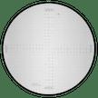 Messplatte RA (Radien, Kreise, Bogen)
