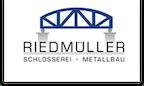 Logo von Riedmüller Schlosserei - Metallbau e.K.