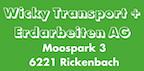 Logo von Wicky Transport + Erdarbeiten AG