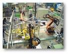 Roboterschweißzelle