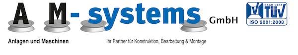 Logo von AM-systems GmbH