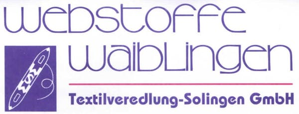Logo von Webstoffe Waiblingen Textilveredlung-Solingen GmbH