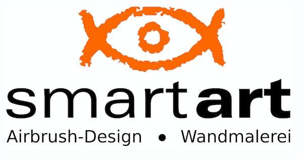 Logo von smart art airbrush design - wandmalerei Martin Dippel