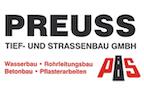 Logo von Preuss, Tief- und Straßenbau GmbH