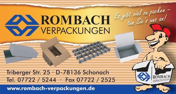 Logo von Rombach Verpackungen Inh. Hans-Peter Disch e.K.