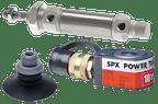 Zylinder - Stoßdämpfer - Vakuum