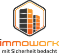 Logo von IMMOWORK - mit Sicherheit bedacht
