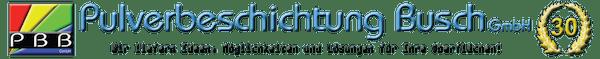 Logo von Pulverbeschichtung Busch GmbH