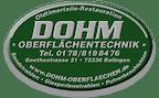 Logo von DOHM Oberflächentechnik Inh. Oliver Dohm