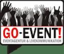Logo von GO-Event! – Eventagentur & Livekommunikation GmbH