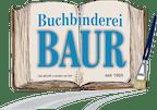 Logo von Buchbinderei und Bildeinrahmung Baur