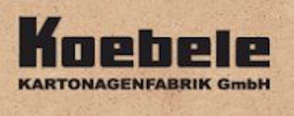 Logo von Koebele Kartonagenfabrik GmbH