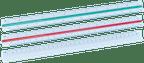 Kunststoff-Dreikantlineal K3KL