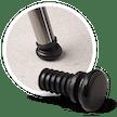 Gelenkgleiter für schräge Stahlrohre