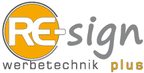 Logo von RE-sign Werbetechnik plus