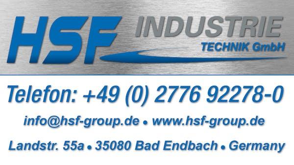 Logo von HSF Industrietechnik GmbH Diamanttechnik - Edelstahltechnik