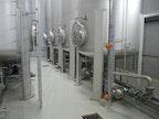 Lösungsmittel-Tanklager