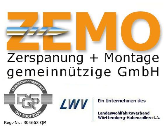 Logo von ZEMO Zerspanung + Montage gemeinnützige GmbH