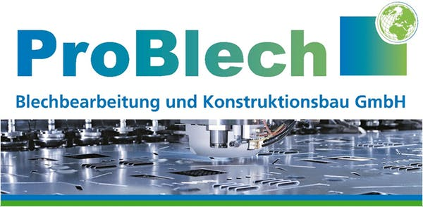 Logo von ProBlech Blechbearbeitungs- und Konstruktions GmbH