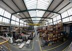 Übersicht Produktionshalle