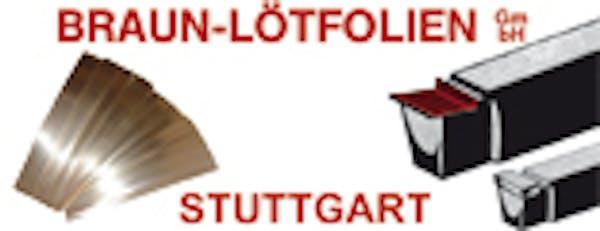 Logo von Braun-Lötfolien GmbH