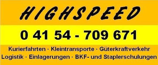 Logo von HIGHSPEED Inh. Martin Klüber