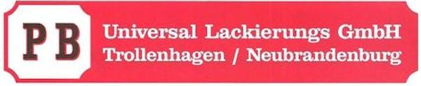 Logo von PB Universal Lackierungs GmbH