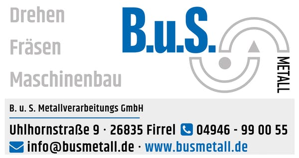 Logo von B u S Metallverarbeitungs GmbH