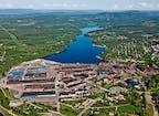 Stahlwerk Hagfors