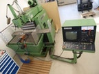 CNC-gesteuerte Fräsmaschine