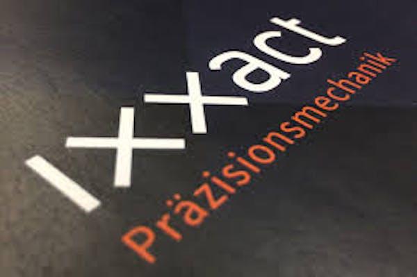 Logo von ixxact Präzisionsmechanik GmbH