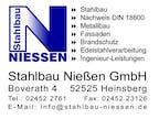 Logo von Stahlbau Nießen GmbH
