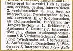 Dolmetschen: interpreting