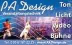 Logo von PA-Design Veranstaltungstechnik GmbH&Co.KG