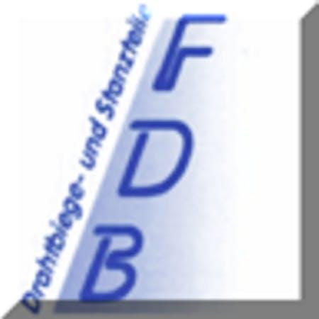 Logo von FDB Drahtbiege- und Stanzteile GbR