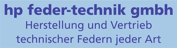 Logo von hp feder-technik gmbh