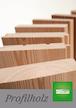 SECA Profilholz