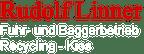 Logo von Rudolf Linner Fuhr und Baggerbetrieb