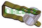 Klammern für Zylinder und Ringe