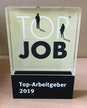 Award TOP JOB aus Acrylglas