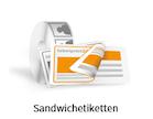 Sandwichetiketten