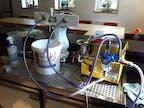 Reinigung einer Bierschankanlage