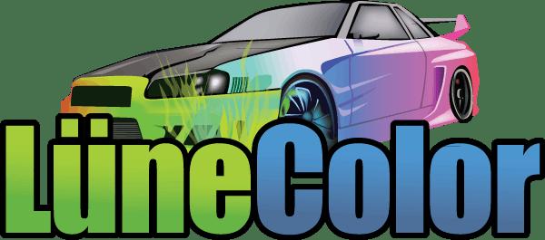 Logo von LüneColor Autolackiererei
