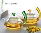 400ml/600ml glass teapot